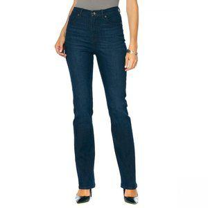 NWT DG2 Classic Stretch Boot Cut Jeans 22W Indigo